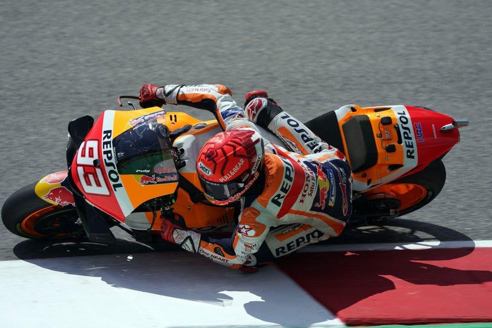 "MotoGP: Marquez: ""La MotoGP è una bestia, la migliore palestra è guidarla"""