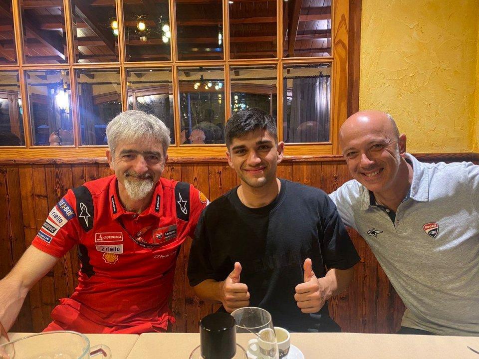 MotoGP: Barcellona, Dall'Igna accoglie Jorge Martin: pronto al rientro sulla Ducati