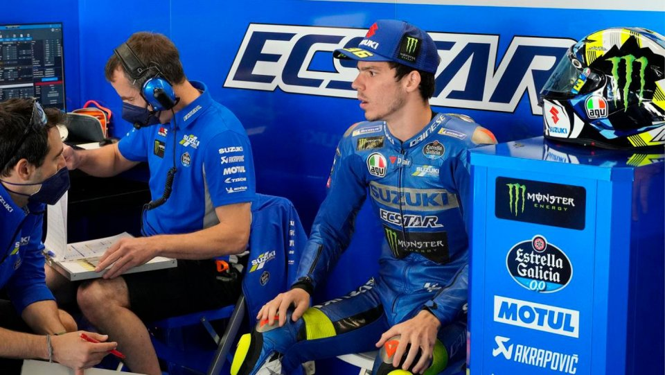 """MotoGP: Mir: """"Marquez couldn't think of coming back and getting right up front."""""""