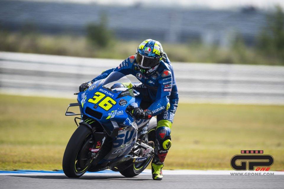"""MotoGP: Mir: """"le Ducati sono un incubo, mi obbligano a sorpassi non nel mio stile"""""""