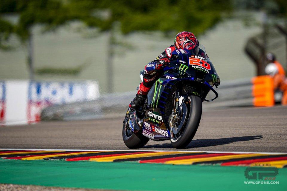 MotoGP: Quartararo prenota la pole: sua la FP3 davanti a Miller. Marquez in Q2, Rossi no