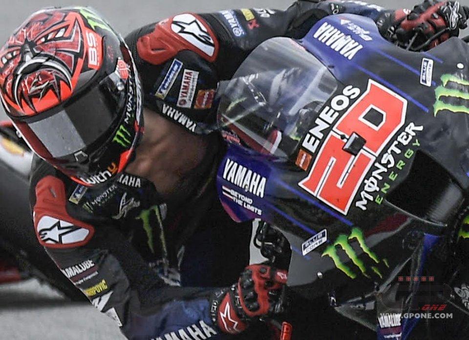"""MotoGP: Quartararo: """"Penalità per la tuta aperta? Mi hanno già tolto il podio"""""""