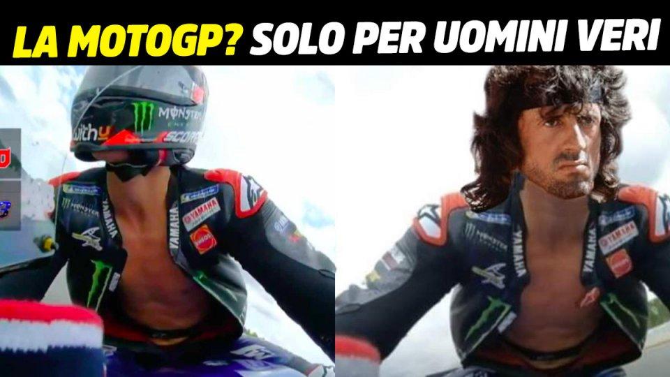 MotoGP: MotoGP? Only for real men, like Quartararo and Rambo