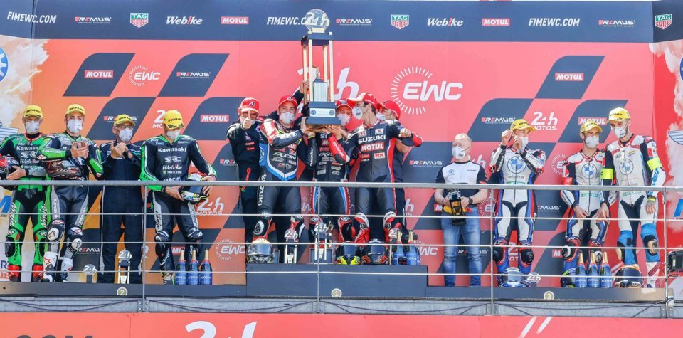 SBK: La Suzuki Yoshimura di Guintoli, Simeon, Black vince la 24 ore di Le Mans