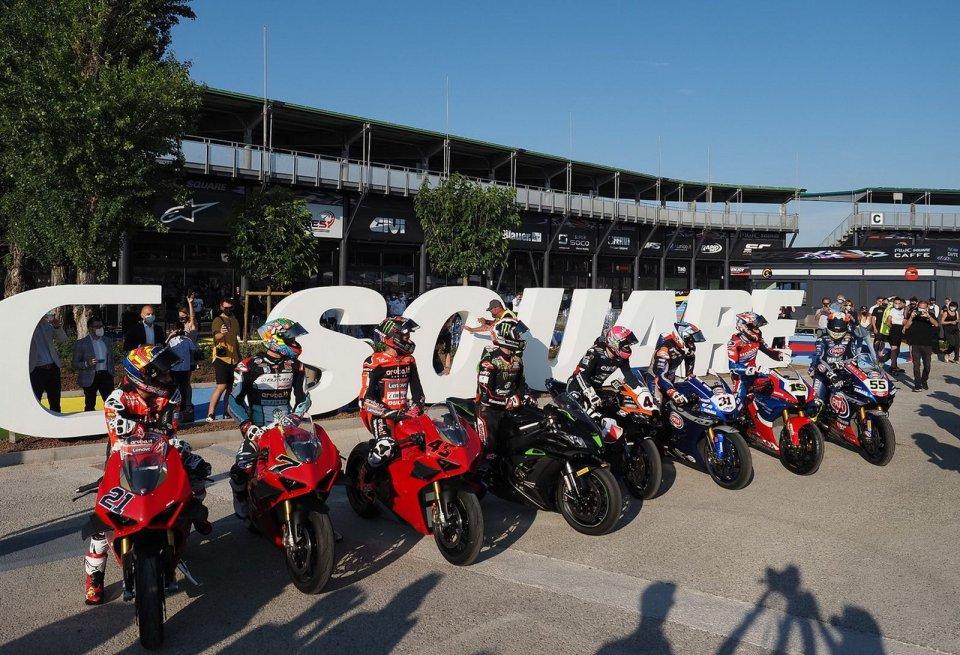 SBK: A Misano inaugurata MWC Square, la piazza della Rider's Land