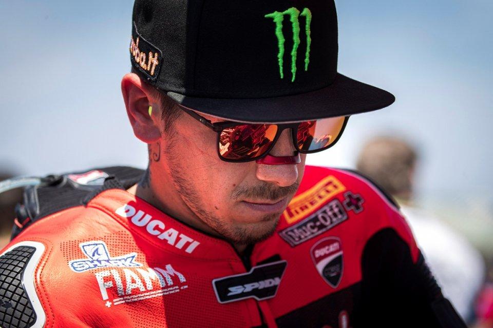 SBK: Rinaldi porta al trionfo la Ducati, ma non per tutti è festa a Misano