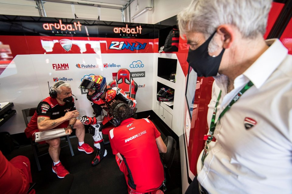 """SBK: Rinaldi: """"I made a pact with Dall'Igna, I hope he's not here on Sunday"""""""