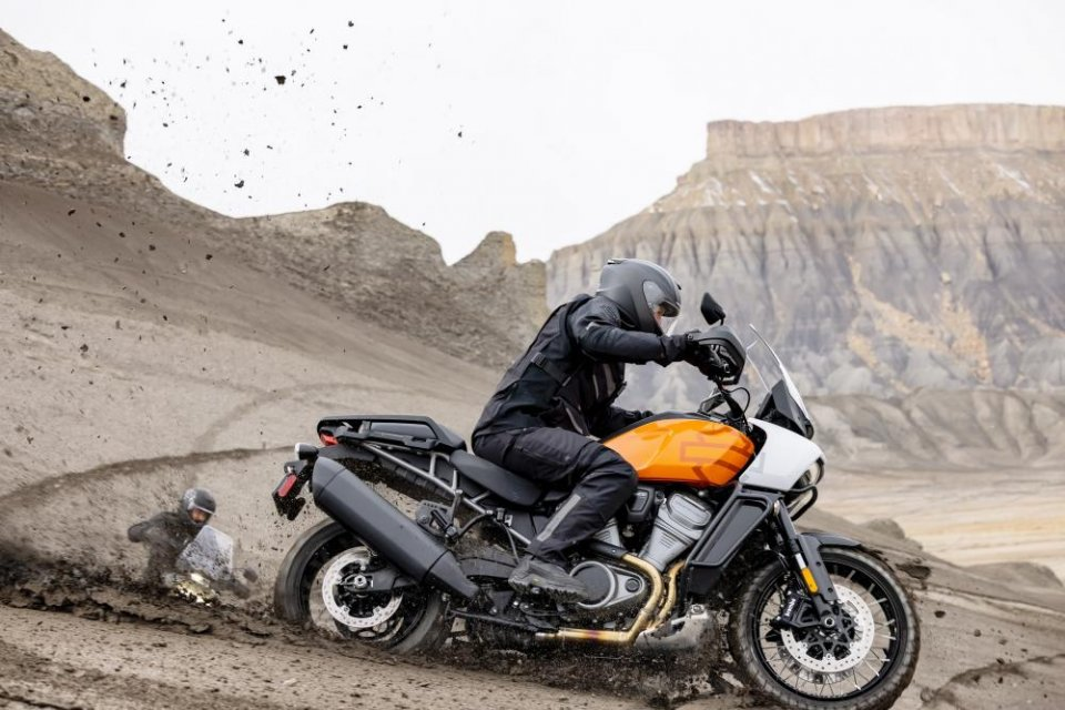 Moto - News: Harley-Davidson Pan America: successo di vendite negli USA