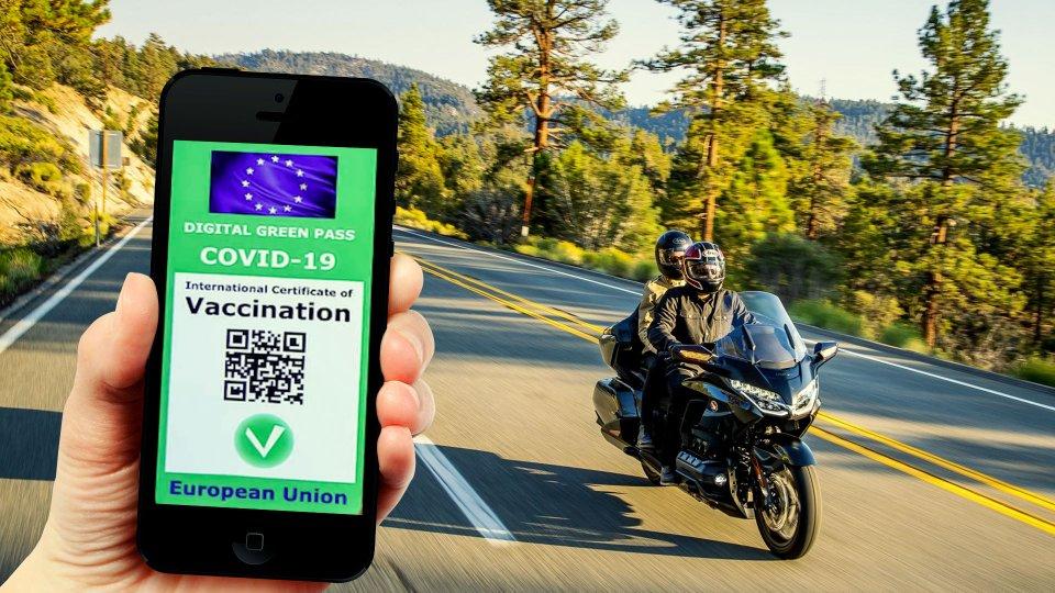 Moto - News: Green Pass Covid, per viaggiare serve anche il dPLF