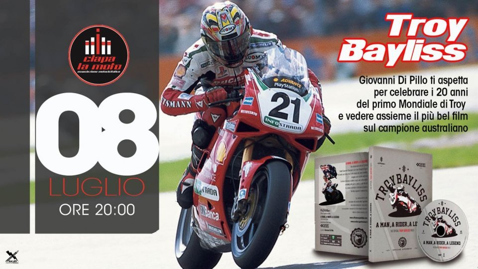 Moto - News: Troy Bayliss per il ritorno di Ciapa la moto