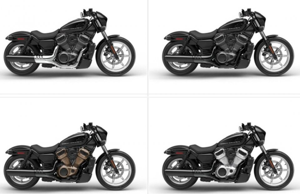 Moto - News: Harley-Davidson Sportster: intorno al 1250 della S nasce la Nightster