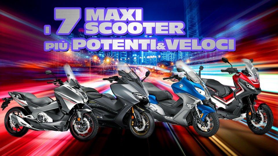 Moto - Scooter: I 7 maxi scooter più veloci e potenti