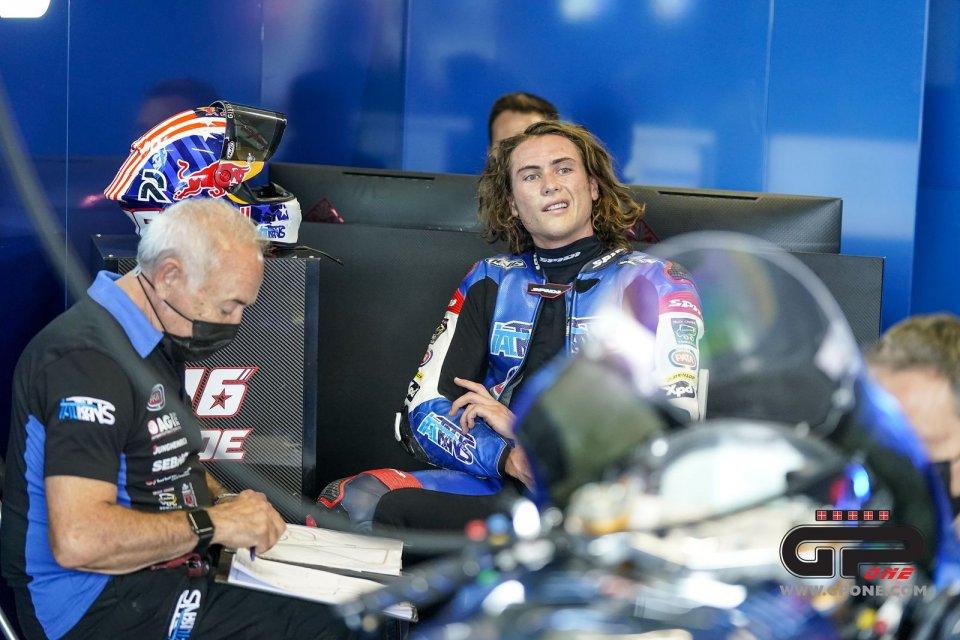 "Moto2: Joe Roberts: ""Giovanni Sandi, my crew chief, is a legend"""