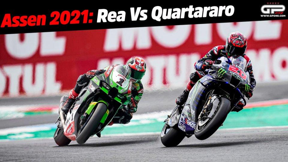 MotoGP: The never-ending challenge: Rea against Quartararo, Superbike against MotoGP at Assen