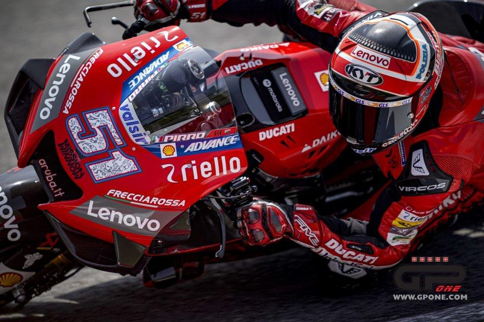 MotoGP: Pirro a Misano guida la carica Ducati nei test aperti al pubblico
