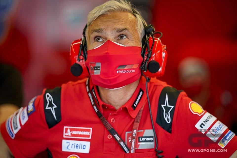 """MotoGP: Tardozzi: """"Bagnaia e Miller aiutano a limitare gli svantaggi di Ducati"""""""