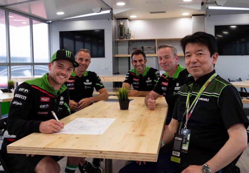 SBK: Alex Lowes e Kawasaki insieme anche nel 2022