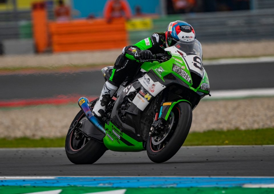SBK: Mantovani supera l'esame Assen e ora mette nel mirino Jerez