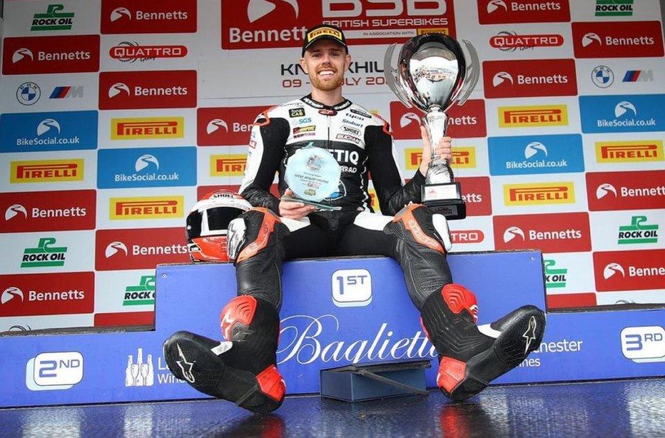 SBK: BSB: La seconda giovinezza del trio Danny Buchan, TAS Racing e BMW