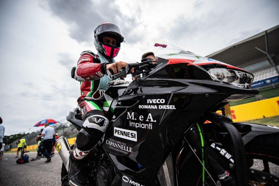 SBK: CIV SS300: Si separano le strade di Nicola Gianico e CM Racing
