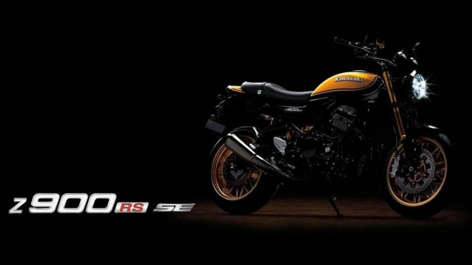 Moto - News: Kawasaki Z900RS SE: animo racing e tributo alla Z1