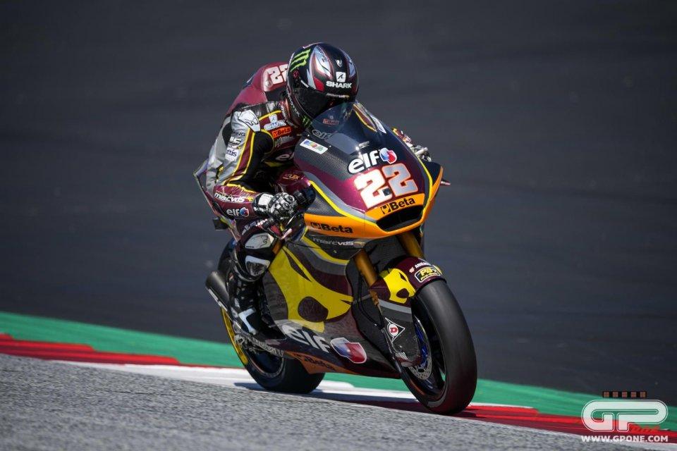 Moto2: Toh, chi si rivede! Sam Lowes torna in pole dopo 7 GP, Bezzecchi 16°