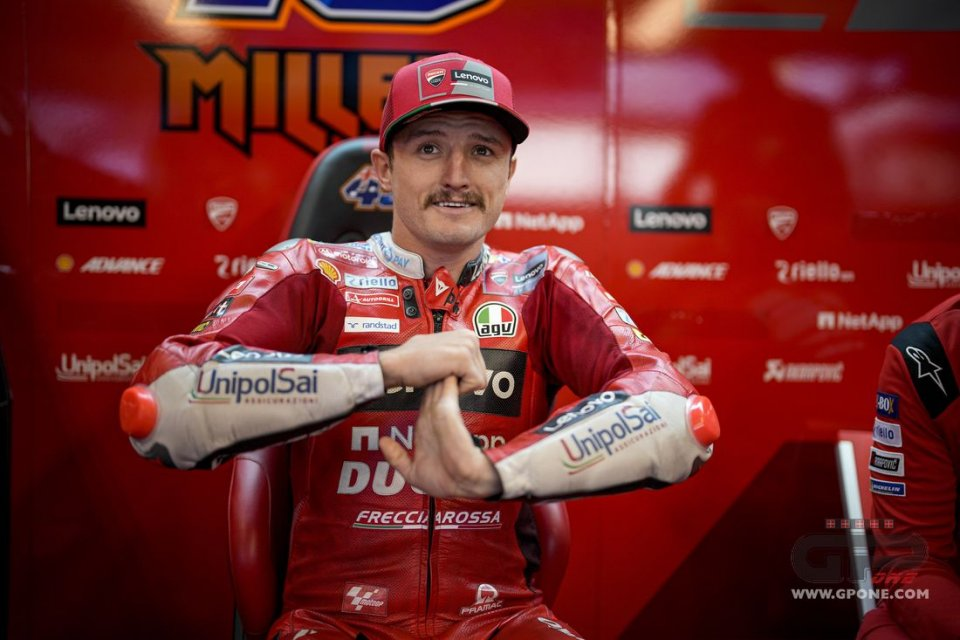 """MotoGP: Miller: """"Rain or shine is fine for me. If it's half and half, even better."""""""