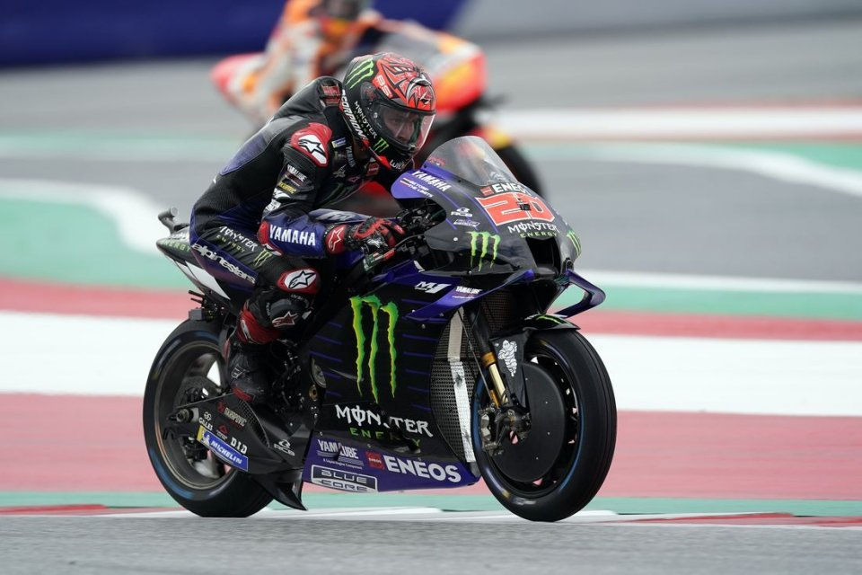MotoGP: Quartararo says that riding with the Yamaha in the wet is a nightmare