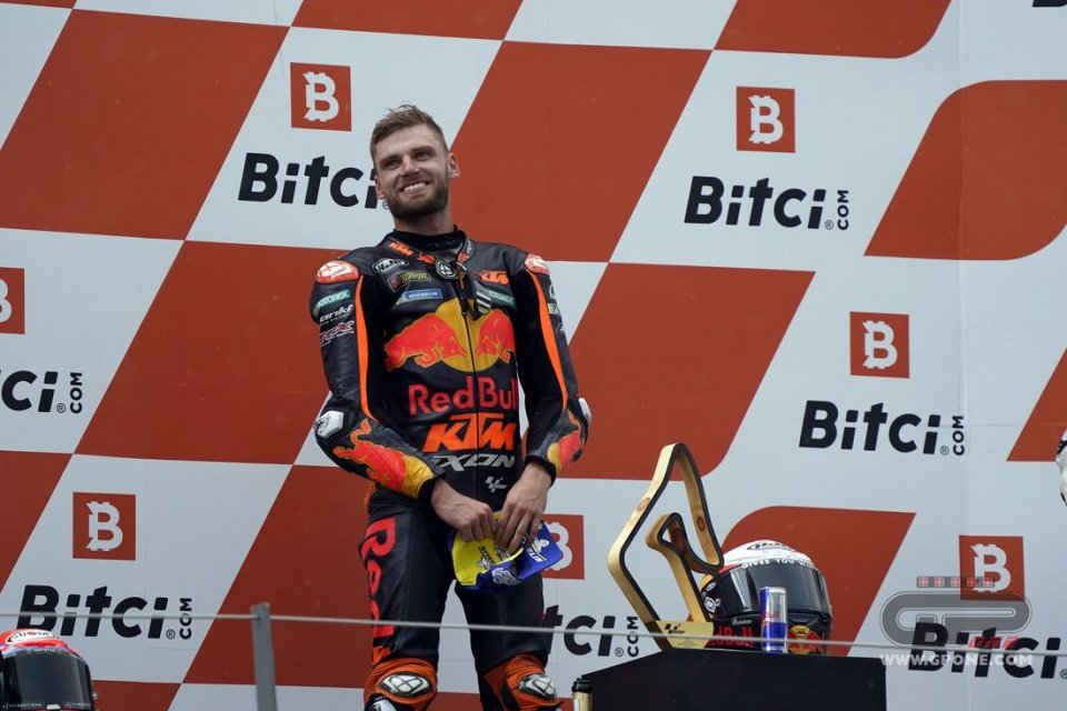 "MotoGP: Brad Binder: ""L'ultimo giro? Non ho corso, sono sopravvissuto"""