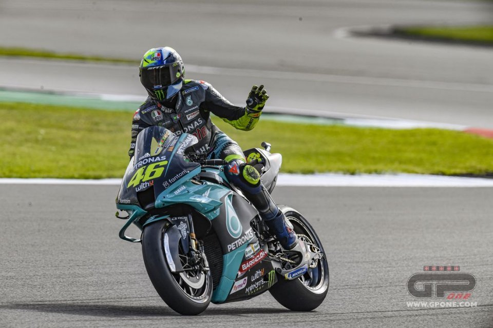 """MotoGP: Rossi: """"Da qui in poi voglio belle gare, sono quelle che mi ricorderò"""""""