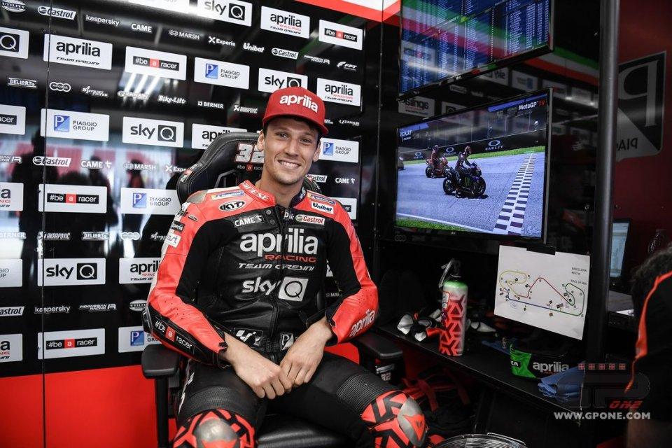"MotoGP: Savadori: ""Vinales in Aprilia? Voglio correre a tempo pieno in MotoGP"""