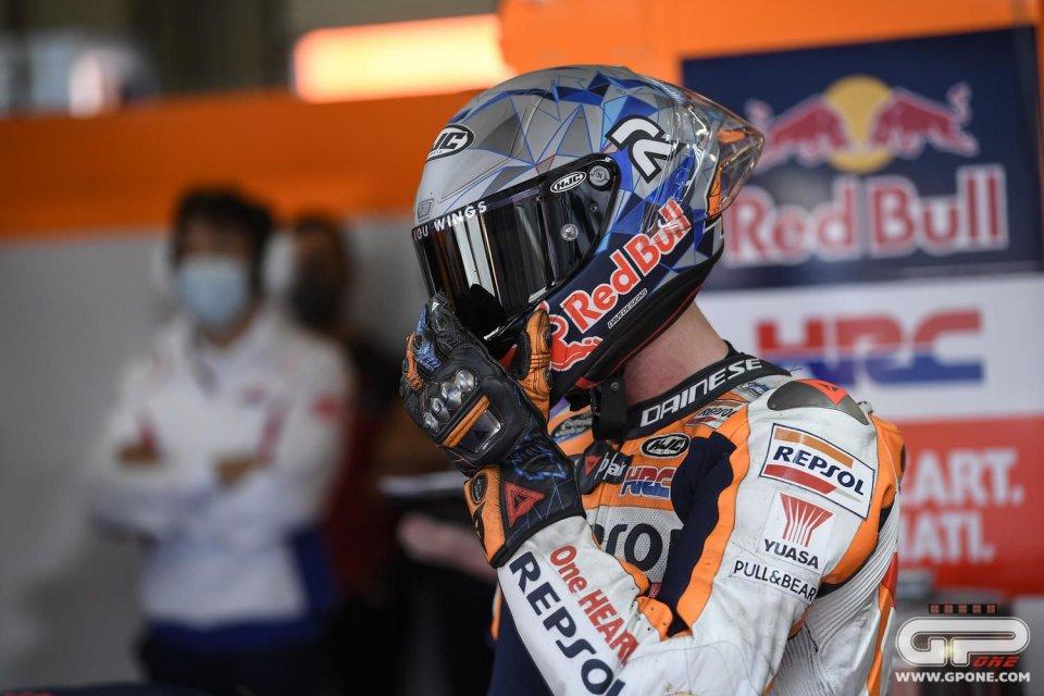 "MotoGP: Pol Espargaró: ""Il nuovo telaio? Honda ha scelto Marc per provarlo"""
