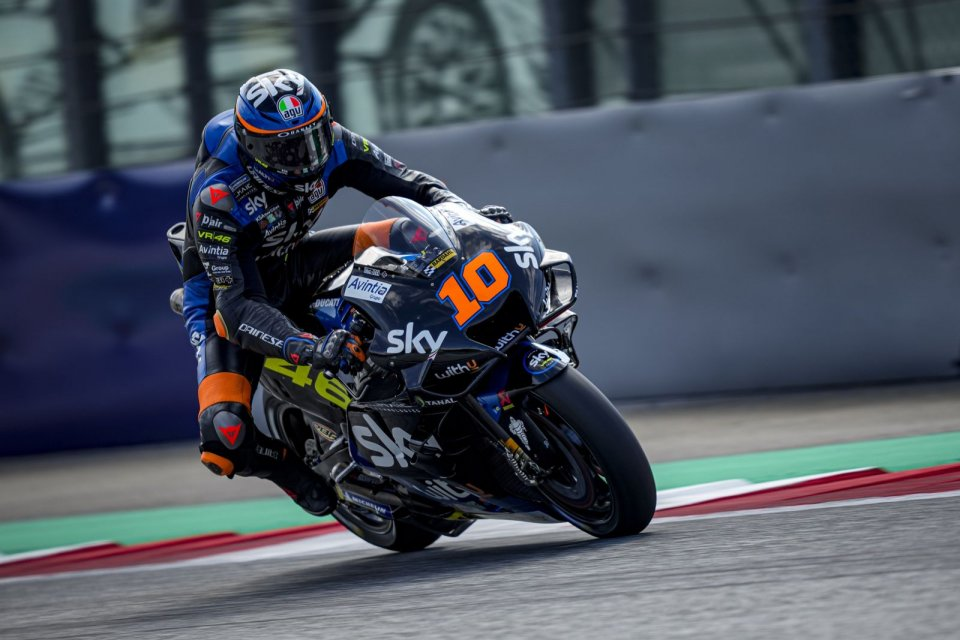 """MotoGP: Marini: We're playing with fire: Turn 3 must be slowed down with a variant"""""""