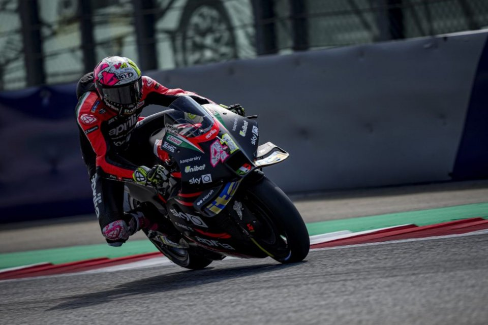 MotoGP: Aleix Espargarò disappointed with race stewards after Marquez's on-the-limit pass