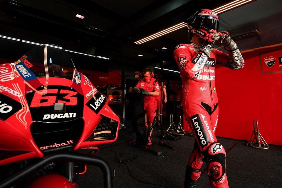 "MotoGP: Bagnaia: ""Silverstone doesn't favor Ducati, but we work well"""