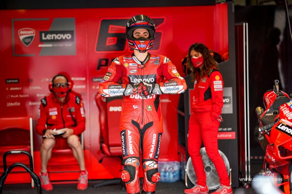 """MotoGP: Bagnaia: """"Non mi sento il leader in Ducati, mi diverto e vado forte"""""""