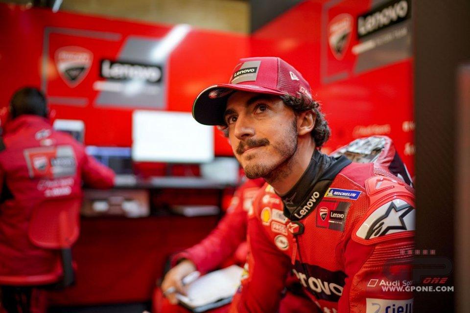 """MotoGP: Bagnaia: """"per battere Quartararo dobbiamo iniziare a vincere qualche GP"""""""