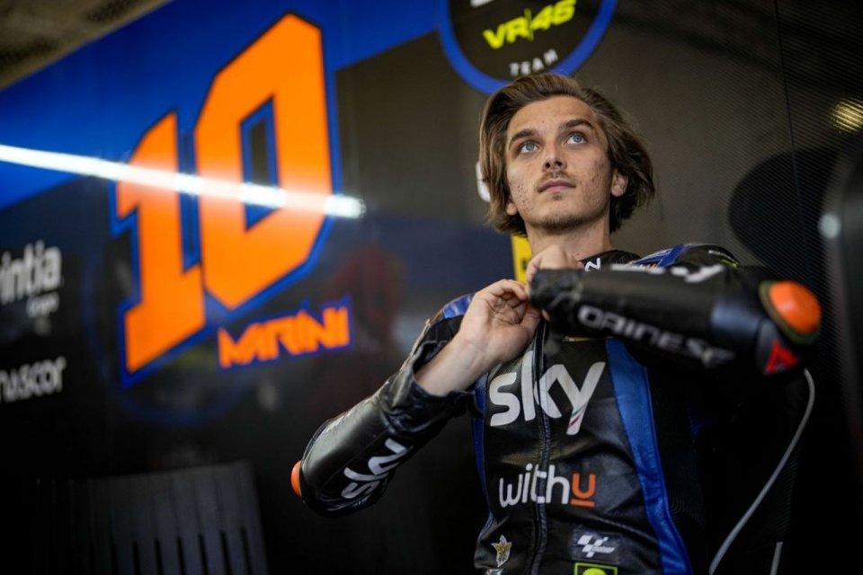 """MotoGP: Marini: """"Bello proseguire con Vale, ma forzarlo sarebbe stato sbagliato"""""""