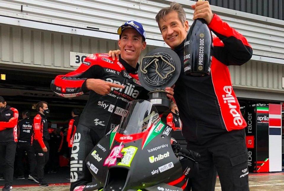 """MotoGP: Aleix Espargarò: """"Bet won, now Aprilia owes me a MotoGP bike"""""""