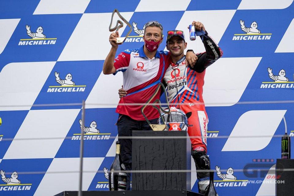 """MotoGP: Guidotti: """"la Ducati è una moto complessa, Martin la ha capita subito"""""""