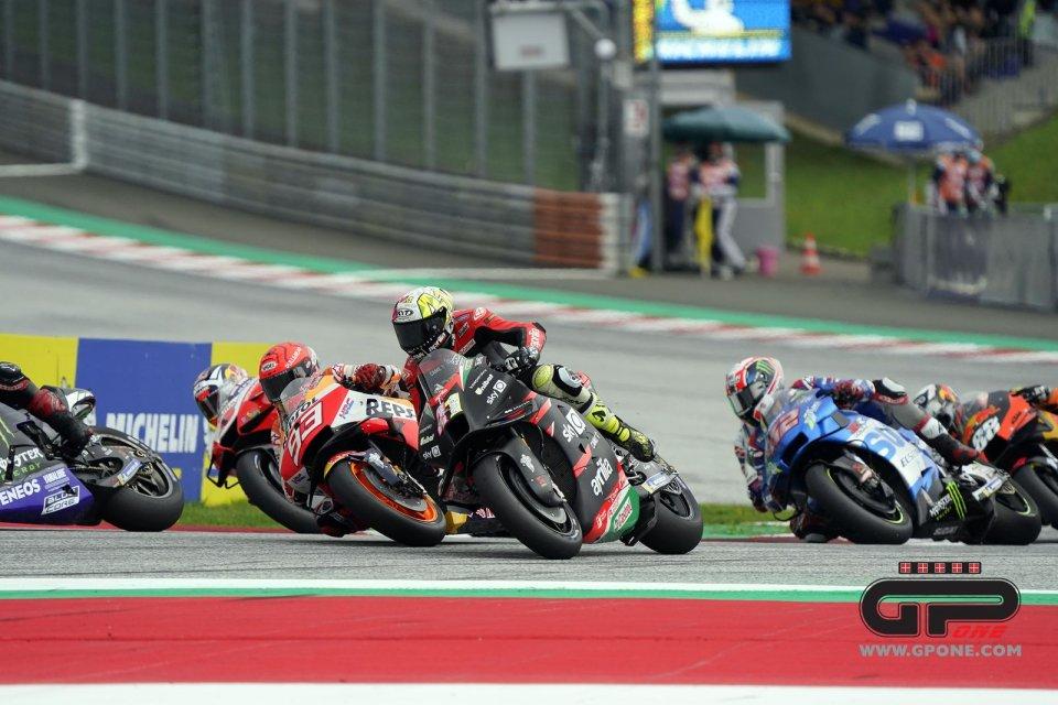 """MotoGP: Marquez: """"ho sbagliato con Espargarò, ho pensato che non chiudesse la curva"""""""