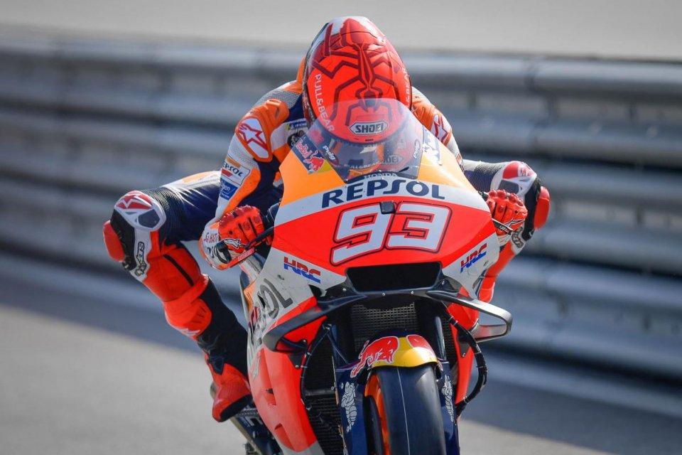 """MotoGP: Marc Marquez: """"Non riesco più a fare certi salvataggi come prima"""""""