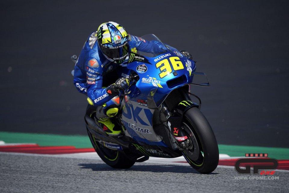 """MotoGP: Mir: """"Ho avuto un problema ai freni, sono un po' arrabbiato"""""""