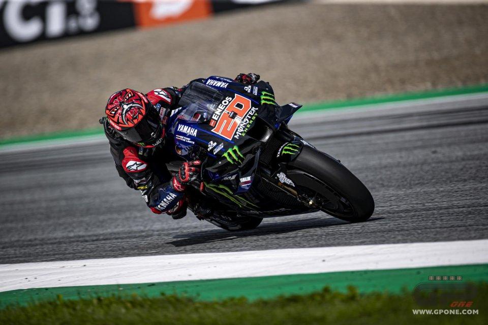 MotoGP: Quartararo vola nella FP2 a Silverstone: prima in pista e poi in classifica