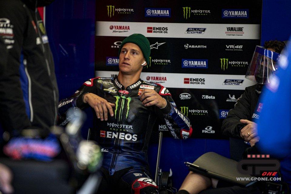 """MotoGP: Quartararo: """"ci sono cose che mi entrano in un orecchio e escono dall'altro"""""""