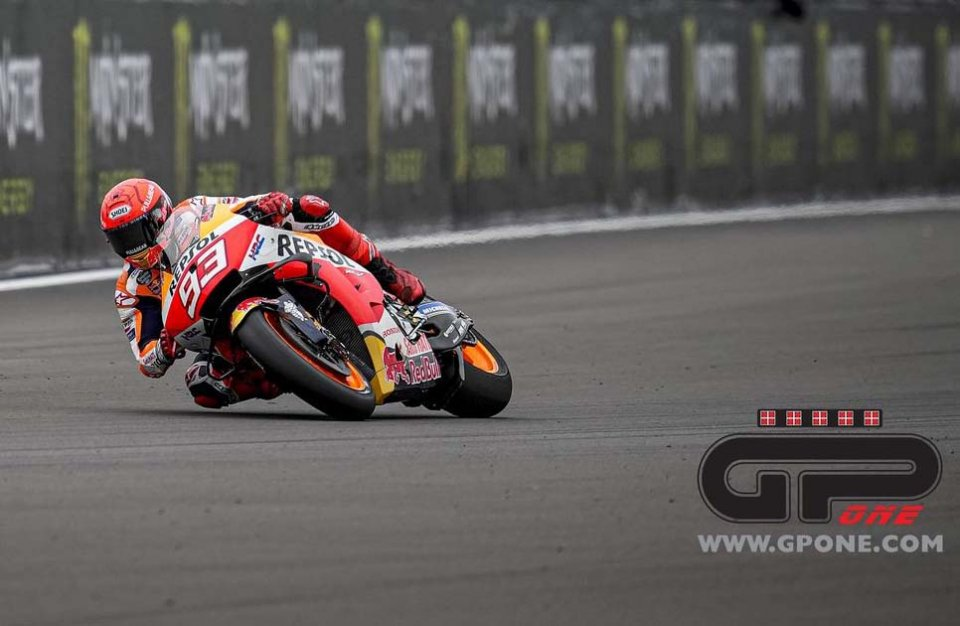 """MotoGP: Marquez: """"The podium would be a good result, winning wouldn't be realistic """""""