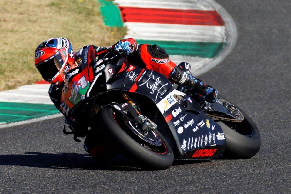 SBK: CIV SBK: Pirro festeggia anche in Gara 2, Canepa-Yamaha sul podio