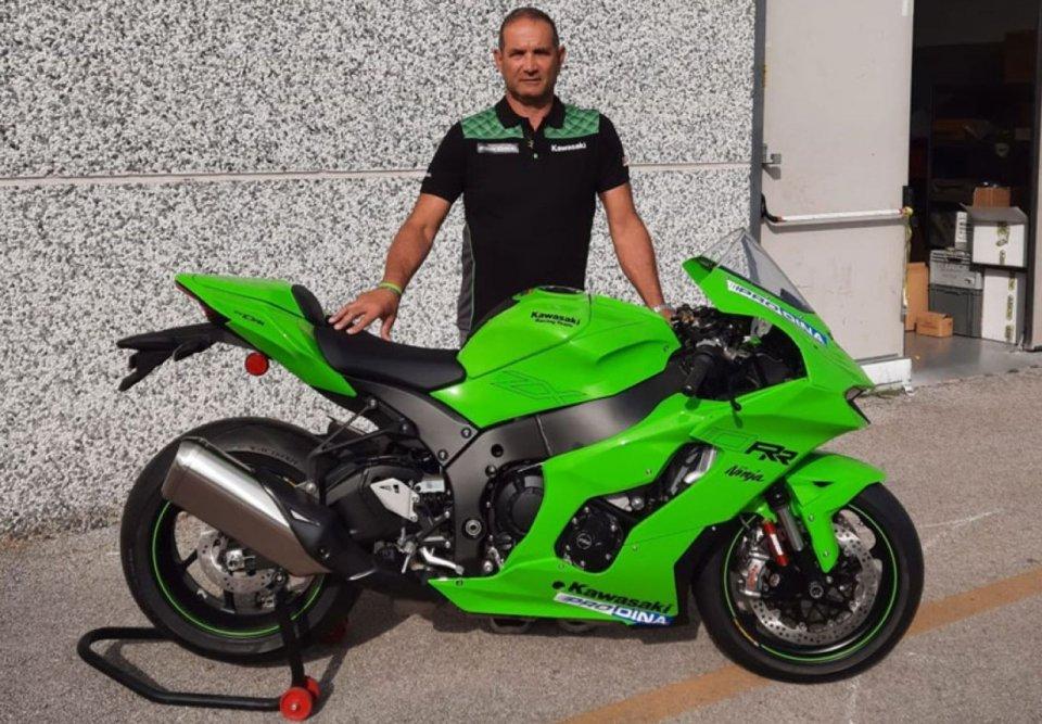 SBK: CIV SBK: dal 2022 torna Kawasaki col Prodina Ircos Racing Team