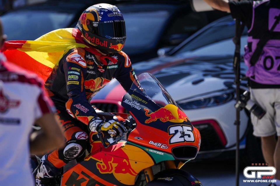 Moto2: Fernandez si prende anche Misano davanti a Gardner. 5° Bezzecchi