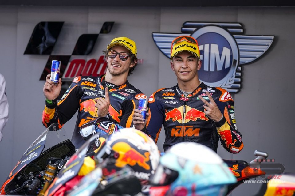 """Moto2: Remy Gardner: """"If we're this strong, it's also thanks to Raul Fernandez"""""""